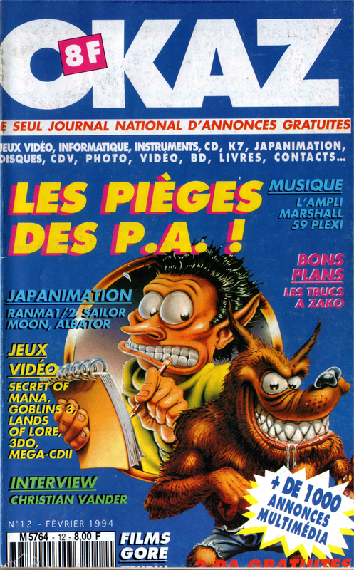 12 - Février 1994